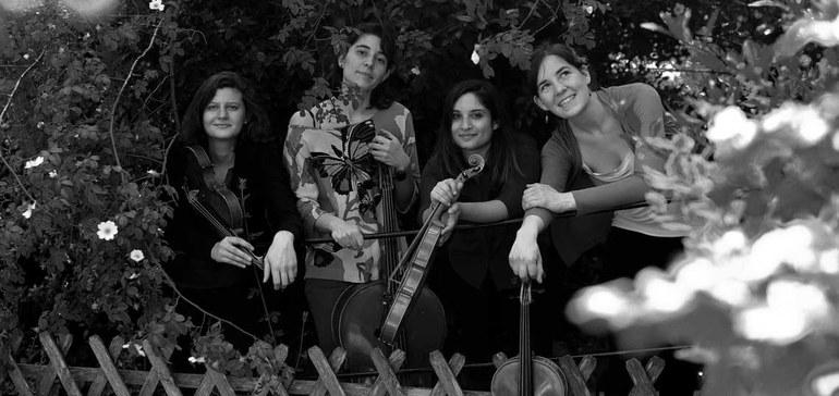 Quatuor Akilone © Natacha Colmez-Collard