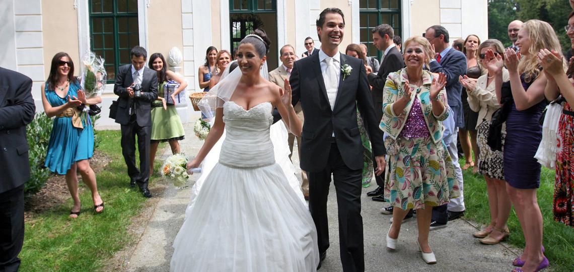Hochzeitsfest im Gartenpavillon © Grafenegg