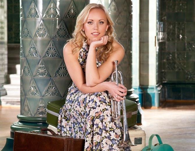 Tine Thing Helseth • trumpet © Colin Bell / Warner Classic